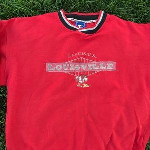 Vintage 1990s Louisville Cardinals Starter Sweater